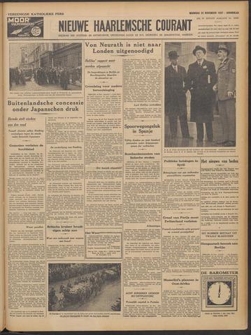 Nieuwe Haarlemsche Courant 1937-11-22