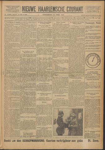 Nieuwe Haarlemsche Courant 1928-04-26