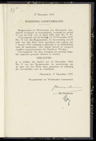 Raadsnotulen Heemstede 1945-12-27