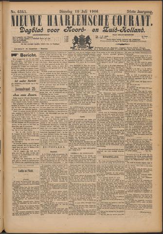 Nieuwe Haarlemsche Courant 1906-07-10