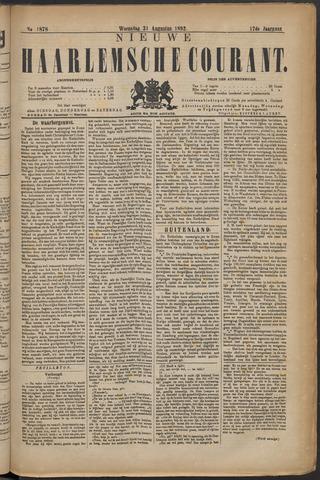 Nieuwe Haarlemsche Courant 1892-08-31