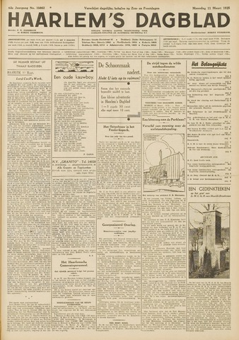 Haarlem's Dagblad 1935-03-11