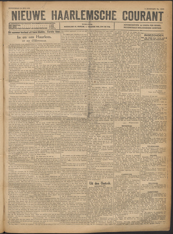 Nieuwe Haarlemsche Courant 1921-07-28