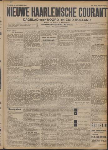 Nieuwe Haarlemsche Courant 1907-10-22