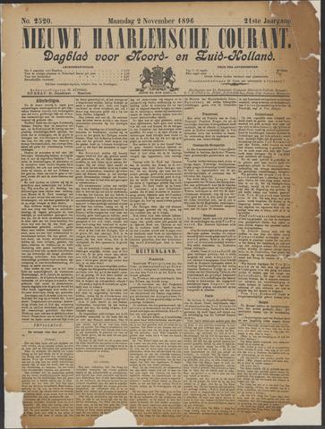 Nieuwe Haarlemsche Courant 1896-11-02
