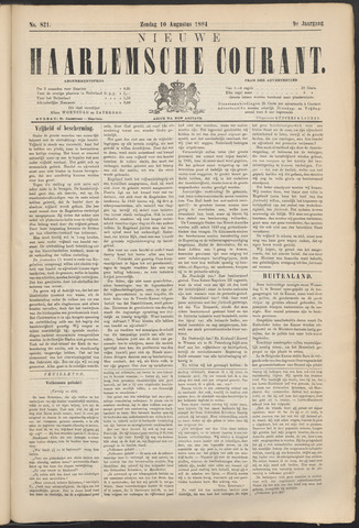 Nieuwe Haarlemsche Courant 1884-08-10