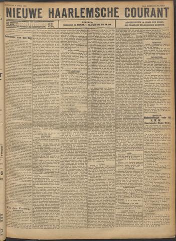 Nieuwe Haarlemsche Courant 1921-04-09