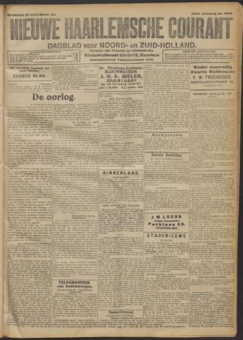 Nieuwe Haarlemsche Courant 1914-11-30