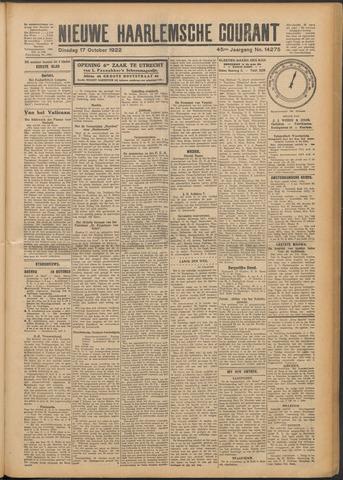 Nieuwe Haarlemsche Courant 1922-10-17