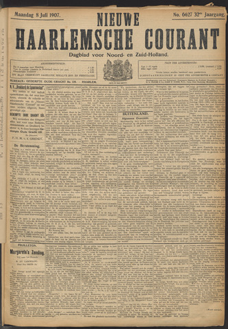 Nieuwe Haarlemsche Courant 1907-07-08