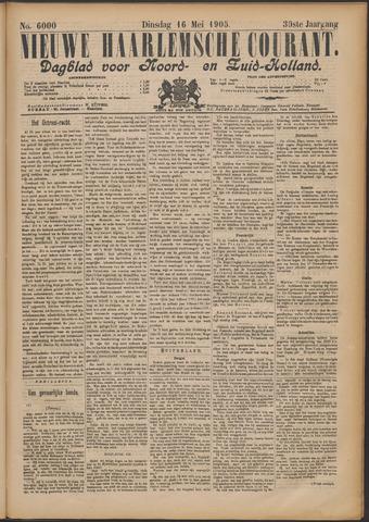 Nieuwe Haarlemsche Courant 1905-05-16