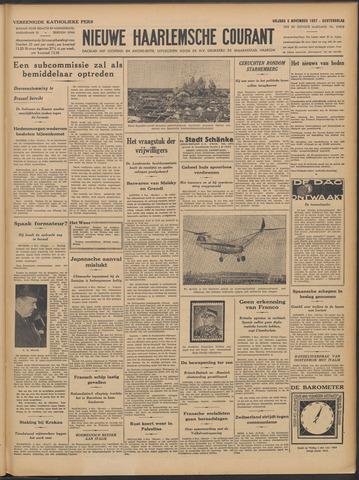 Nieuwe Haarlemsche Courant 1937-11-05