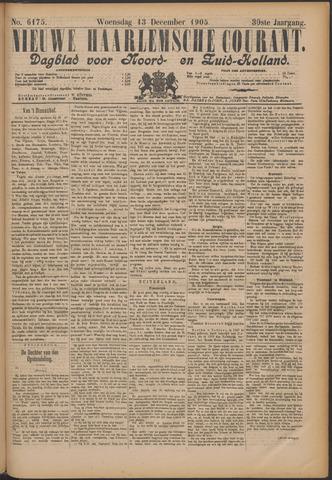 Nieuwe Haarlemsche Courant 1905-12-13