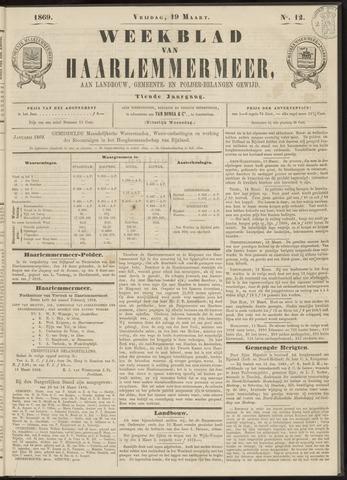 Weekblad van Haarlemmermeer 1869-03-19
