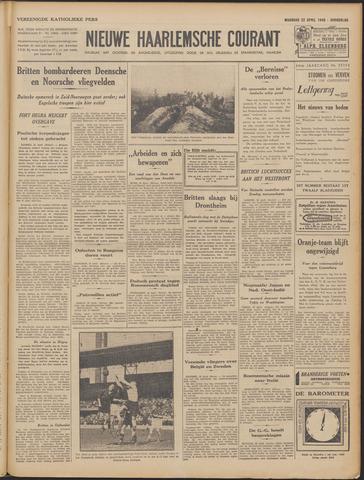 Nieuwe Haarlemsche Courant 1940-04-22