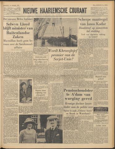 Nieuwe Haarlemsche Courant 1957-01-14