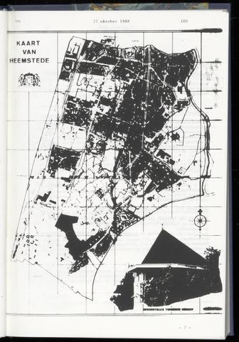 Raadsnotulen Heemstede 1988-10-29