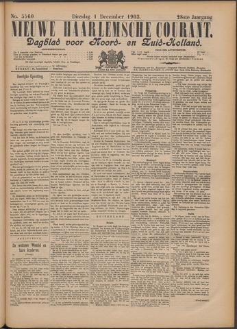 Nieuwe Haarlemsche Courant 1903-12-01
