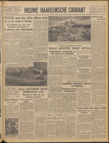 Nieuwe Haarlemsche Courant 1948-02-21