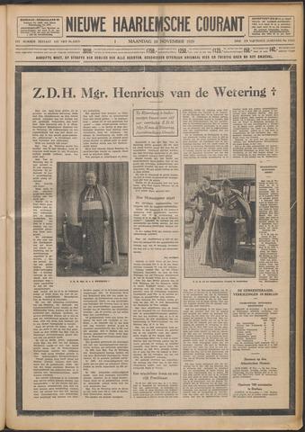 Nieuwe Haarlemsche Courant 1929-11-18
