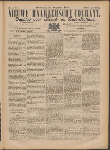 Nieuwe Haarlemsche Courant 1903-08-26