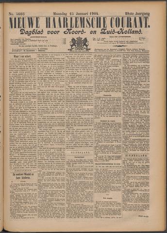 Nieuwe Haarlemsche Courant 1904-01-25