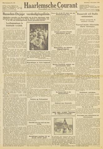 Haarlemsche Courant 1943-11-06