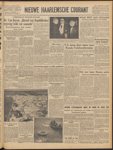 Nieuwe Haarlemsche Courant 1949-03-11