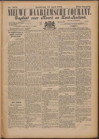Nieuwe Haarlemsche Courant 1904-04-14