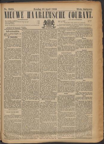 Nieuwe Haarlemsche Courant 1896-04-19
