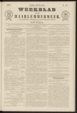 Weekblad van Haarlemmermeer 1870-11-18