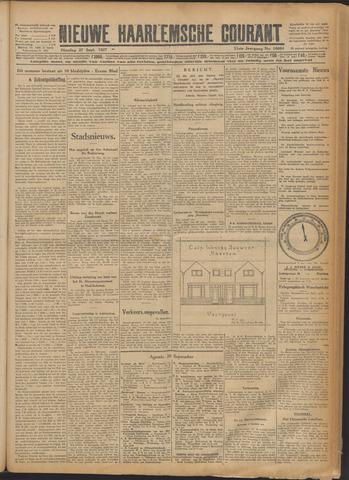 Nieuwe Haarlemsche Courant 1927-09-27