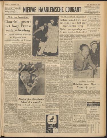 Nieuwe Haarlemsche Courant 1958-11-07