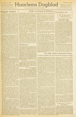 Haarlem's Dagblad 1945-07-04