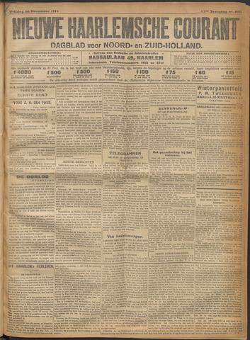 Nieuwe Haarlemsche Courant 1915-11-26