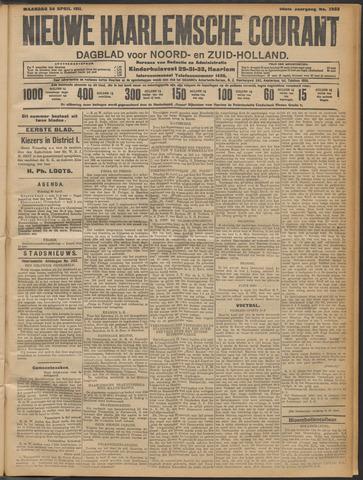 Nieuwe Haarlemsche Courant 1911-04-24