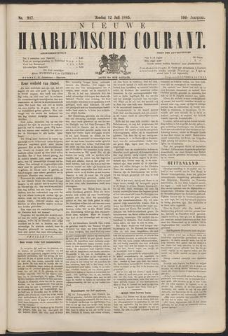 Nieuwe Haarlemsche Courant 1885-07-12
