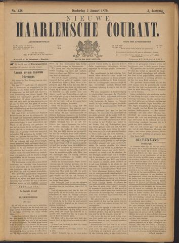 Nieuwe Haarlemsche Courant 1879