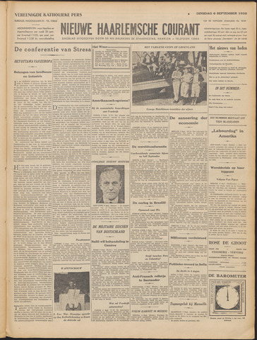 Nieuwe Haarlemsche Courant 1932-09-06