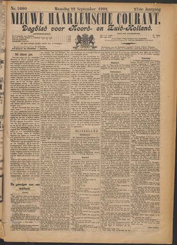 Nieuwe Haarlemsche Courant 1902-09-22