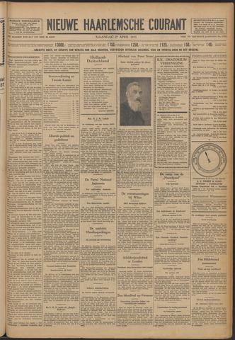 Nieuwe Haarlemsche Courant 1931-04-27