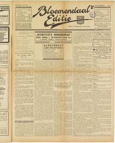 Bloemendaal's Editie 1928-06-09