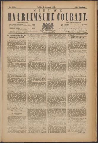 Nieuwe Haarlemsche Courant 1887-11-04