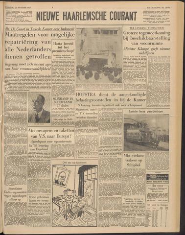 Nieuwe Haarlemsche Courant 1957-11-20