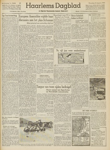 Haarlem's Dagblad 1950-08-16