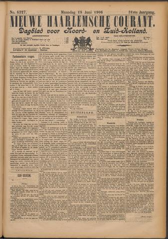 Nieuwe Haarlemsche Courant 1906-06-18