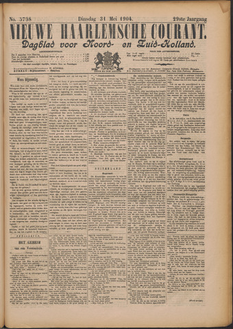Nieuwe Haarlemsche Courant 1904-05-31