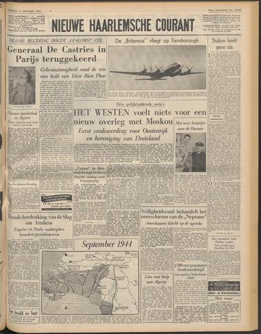Nieuwe Haarlemsche Courant 1954-09-11