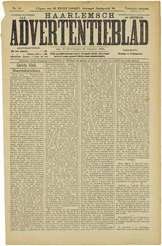 Haarlemsch Advertentieblad 1898-10-26