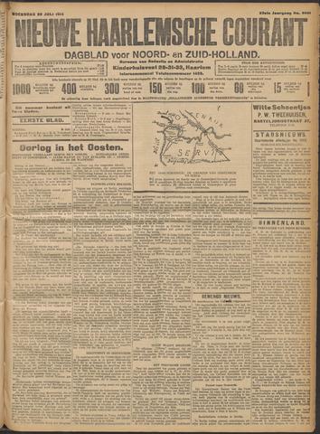 Nieuwe Haarlemsche Courant 1914-07-29